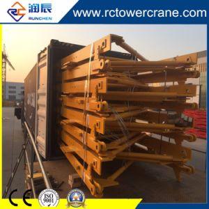 Ce250 Topkit Qtz Equipos de construcción de grúa torre para obras de construcción
