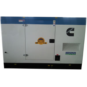 Cummins Engine Silent Diesel Generator Set Professional Use