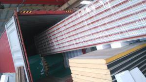 Panel de sandwich de poliuretano PU Material de construcción Sandwich Paneles de techo