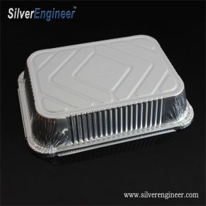La plaque d'aluminium à usage unique pour les emballages des aliments