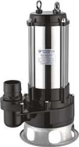 Casting di acciaio inossidabile Submersible Sewage Pump 2.2kw Industry trifase Using