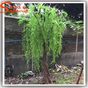 Natal decorativa artificial chorando Green Willow Árvores