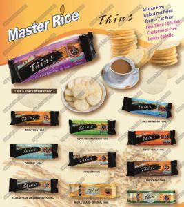 Neue gebratene Ofen geglühte Käse-Aroma-Reis-Chip-aufbereitende Zeile