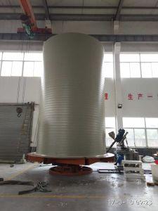 Le PEHD Réservoirs en spirale de ligne de production