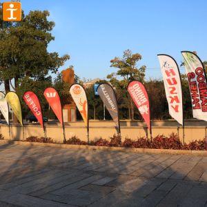 Оптовая торговля передача тепла-слезники флаг, полиэстер флаг для рекламы (TJ-25)