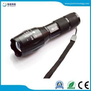 L2 CREE 1200LM Zoom 18650 / 3 linterna LED de batería AAA