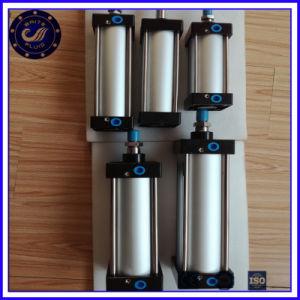 ピストンタイ棒のアルミニウム空気力の空気の空気シリンダー