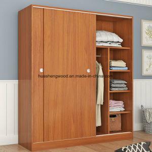 Schlafzimmer-Möbel stellen Garderoben-Wandschrank ein