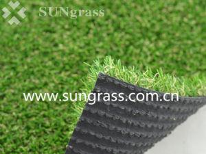 erba artificiale del tappeto erboso dell'erba esterna di paesaggio PE+PP di 22mm
