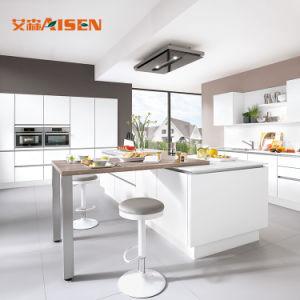 Mobiliário de cozinha moderna comercial Gloss armário de cozinha