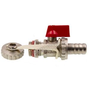 valvola d'ottone della caldaia di 1/2  con la catena e la protezione