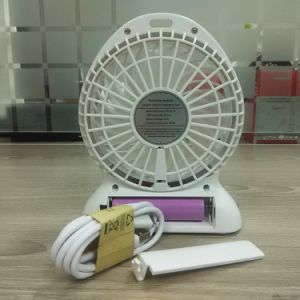 Ventilatore mobile portatile della batteria di litio di potere del ventilatore del piccolo di corsa del ventilatore del tavolo ventilatore ricaricabile esterno personale del USB mini