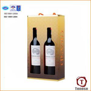 Contenitore di regalo del vino dell'elemento portante del cartone di alta qualità