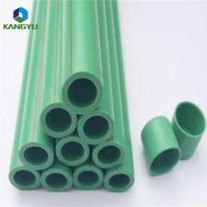 La igualdad de forma y color verde tubo PPR con tamaño de 20mm-160mm