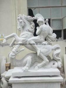 De Gravure van de steen, het Wit Marmeren Standbeeld van het Cijfer van de Mens/Beeldhouwwerk van Oude Grieks en Roman