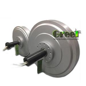 generatore di vento a magnete permanente di Coreless RPM del peso basso basso basso di coppia di torsione di 200W 0.2kw 200rpm, generatore assiale di Coreless di cambiamento continuo