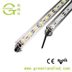 Garantia de 3 anos de alta luminosidade 12V SMD LED 24V régua rígida do perfil de PVC para a faixa de LED