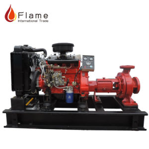 Bewässerung-Diesel pumpt Wasser-Pumpe des Druck-45kw für Verkauf