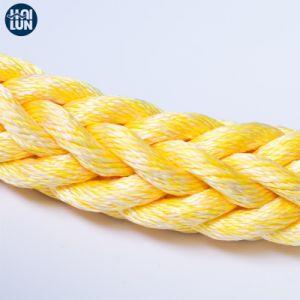 高密度ポリプロピレンおよびポリエステル混合されたロープ