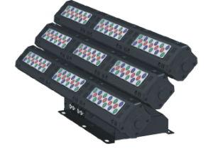 풀 컬러 LED 벽 세탁기 빛 LED 플러드 빛
