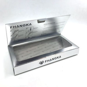 Caja de papel cartón personalizada Caja de regalo cosmética Embalaje