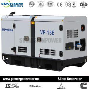 EPAおよびEUの証明書が付いているパーキンズエンジンを搭載するディーゼル発電機セット