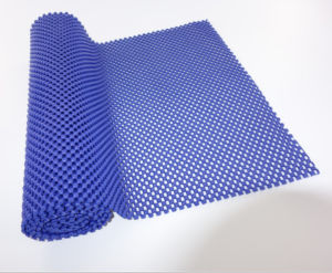 230g, 260g Camisa de malha de espuma revestido de PVC Underlay Non-Slip Mat