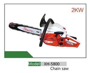 Motosierra gasolina Xh5800 58cc de suministro de nuevo diseño