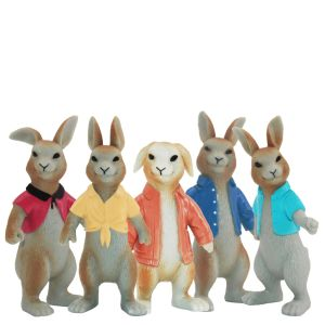Kid juguetes de plástico el Peter Rabbit