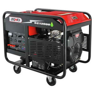 A fábrica fornece 10kVA Twin-Cylinder Gasolina gerador de energia elétrica para uso doméstico com marcação CE/Soncap/CIQ...