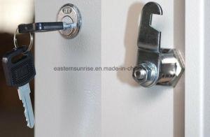 Kleedkamer/Badkamers 6 de Kast/de Garderobe/het Kabinet van het Staal van het Metaal van de Deur