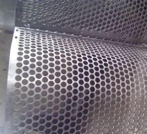 Rquare// Les trous oblongs de Round /maille perforée en métal/acier inoxydable/aluminium/Tôles galvanisées