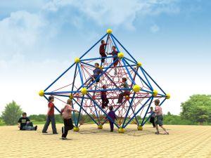 Strumentazione esterna del campo da giuoco di forma fisica di divertimento della sosta di ginnastica
