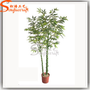 Venda a quente Árvore de plantas de bambu artificiais para decoração (BM038)