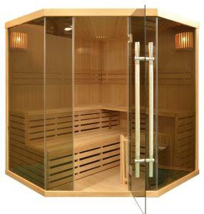 Popular Série de Sauna Finlandesa tradicional para 5 Pessoa