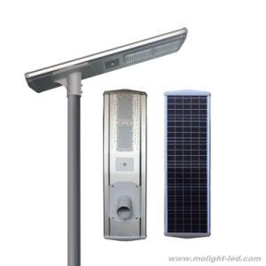 La luz de la calle con el panel solar integrado 60W de alta calidad