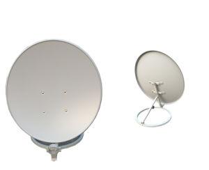 Banda KU 60cm Eurostar Antena Parabólica com base circular