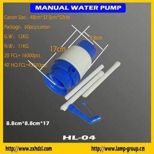 La mano la bomba de agua para botellas de agua de 5 galones (HL-04)