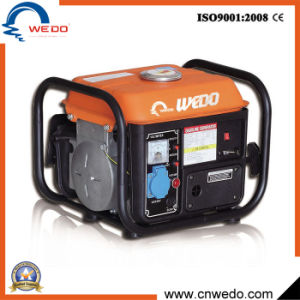 Generatori portatili della benzina di uso 800W della casa di inizio della mano del colpo Wd950 2 con CC