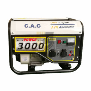 benzina di 2.5kw/2.8kw/3.0kw/3.5kw 110/220V 50Hz/60Hz/generatore Portable della benzina