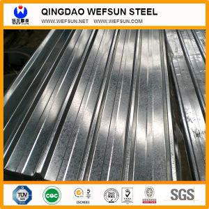 Piatto di tetto ondulato d'acciaio galvanizzato PPGI di colore