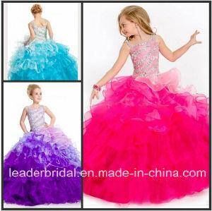 Bordare il vestito Fl2151 dalla ragazza di fiore del Organza dell abito di  sfera di spettacolo della ragazza 85f66c16b9a