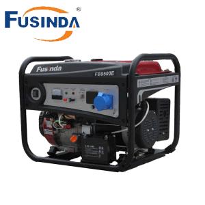 16Cv 7kVA hogar generador de gasolina con asa y ruedas