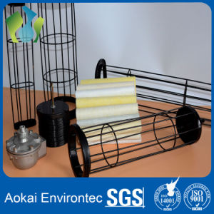 Kundenspezifischer SS-Filtertüte-Rahmen mit Venturi traf im Stahlwerk zu