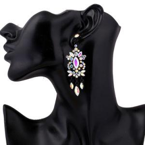 方法良質のガラス水晶宝石用原石のイヤリング