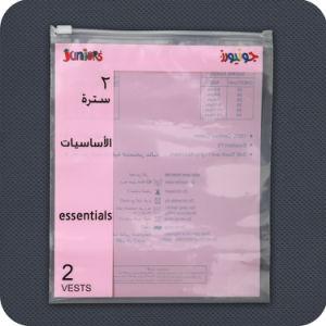 Zoll gedruckter Plastikreißverschluss-Beutel