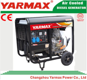 Anerkannter 11kw 11000W geöffneter Rahmen-Dieselgenerator-Set-Dieselmotor Genset des Yarmax Cer-ISO9001