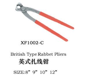 ウサギのプライヤータワーの挟みの赤く柔らかいプラスチックによって塗られるハンドルによって曲げられる顎8 ' 9 ' 10 ' 12 '