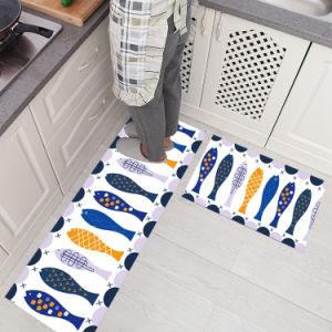 Водонепроницаемый чехол можно стирать Впитывающий Коврик коврики пола на кухне Designer машинная стирка коврики для кухни