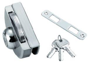 Conexão da Porta de vidro corrediço Bloquear feitas de aço Stainelss (FS-221)